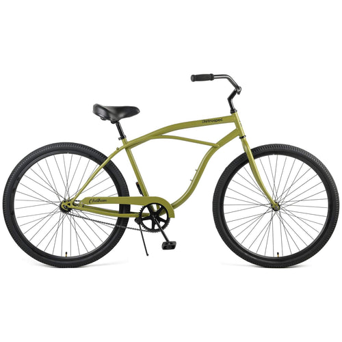 "Chatham 26"" Beach Cruiser 1S - Military Green"