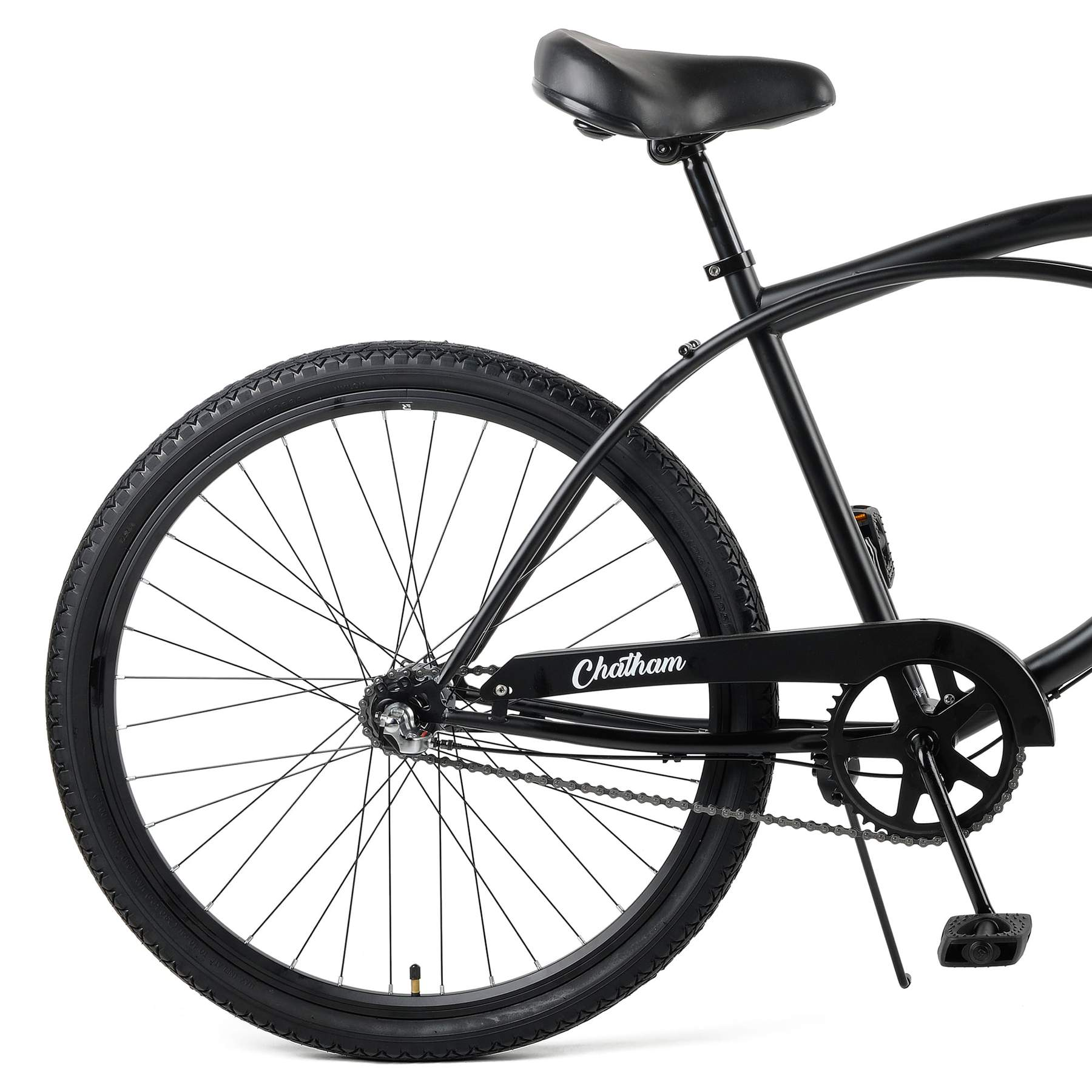 "Chatham 26"" Beach Cruiser 3S - Matte Black"