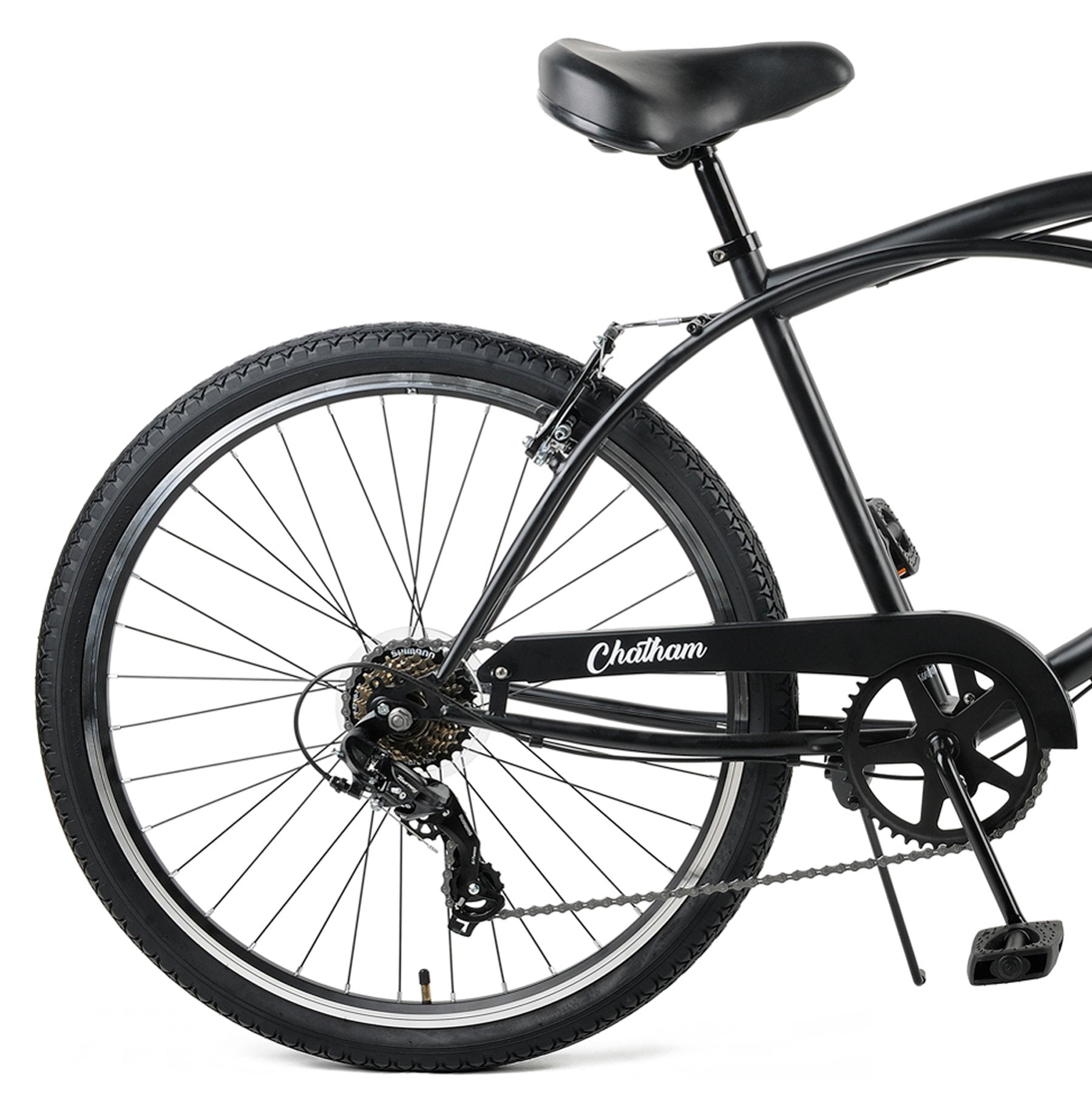 Chatham Cruiser 7Speed - Matte Black