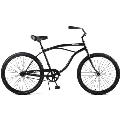 "Chatham 26"" Beach Cruiser 1S - Matte Black"