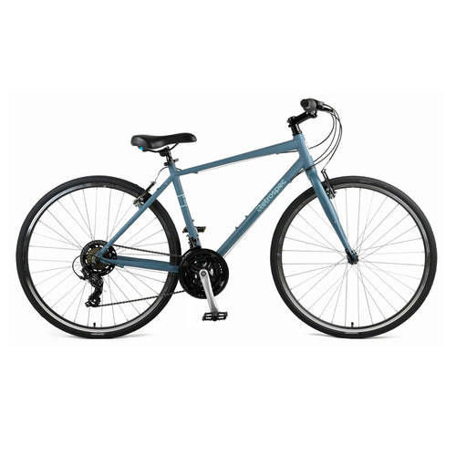 Atlas Hybrid Bike - Matte Granite Blue