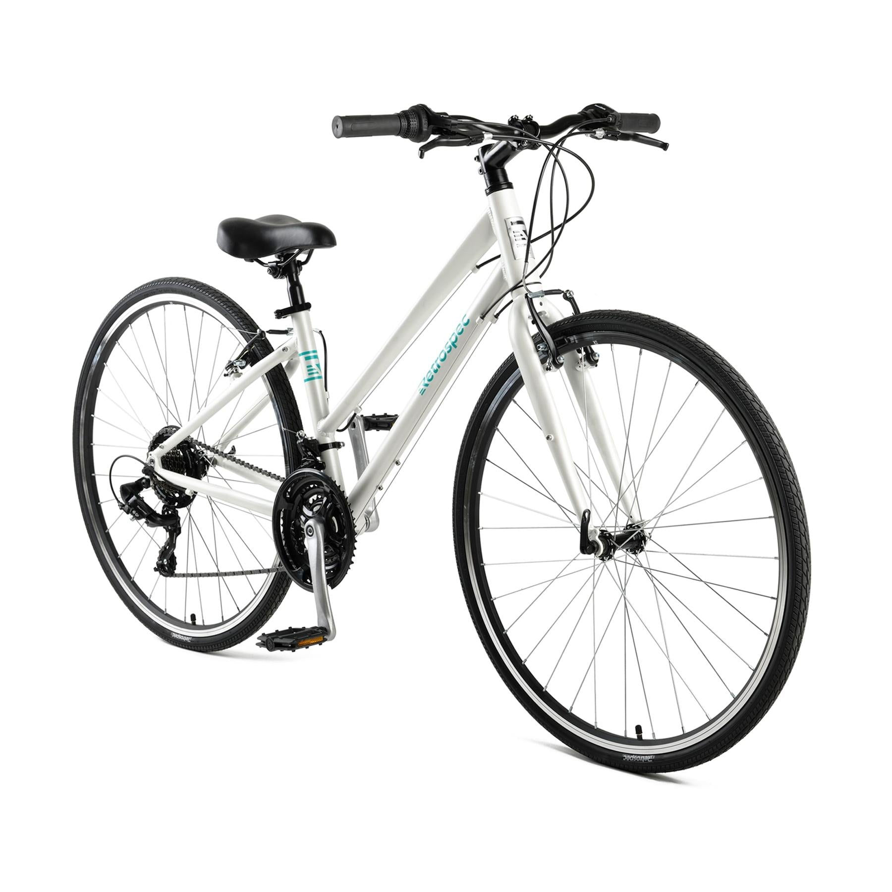 Atlas Hybrid Bike, Step-Thru - Matte White