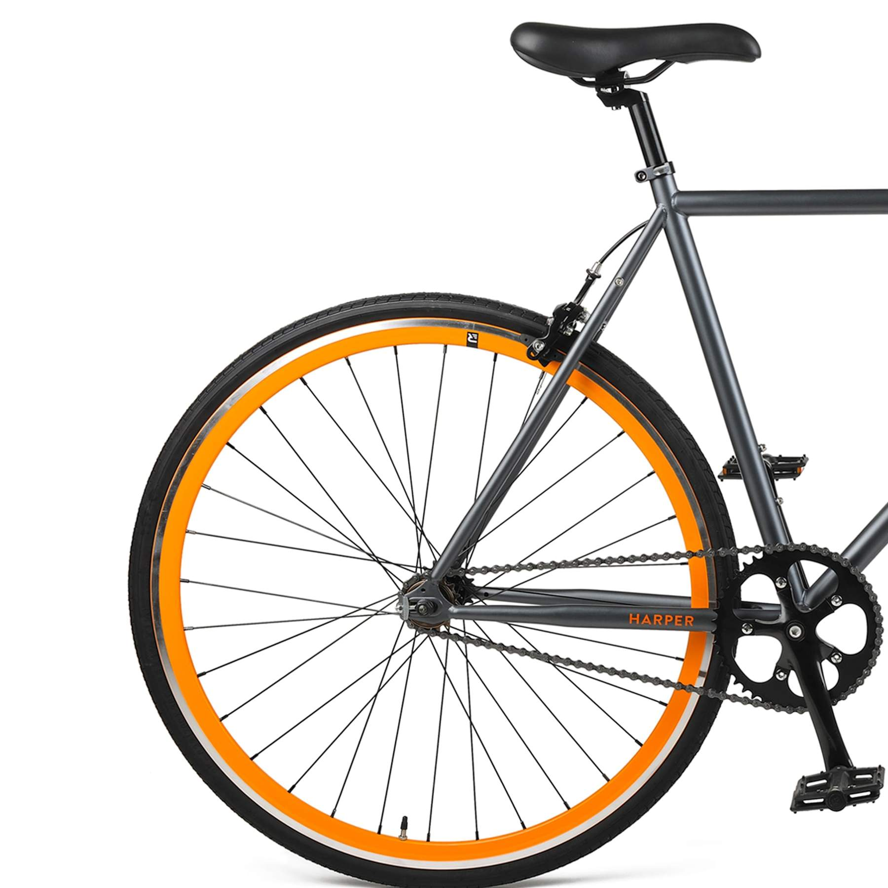 HARPER SINGLE SPEED/FG - Graphite/Orange