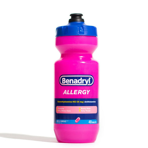 Benadryl Water Bottle