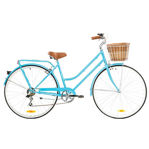 Atlas Hybrid Bike, Step-Thru - Matte Olympic Blue
