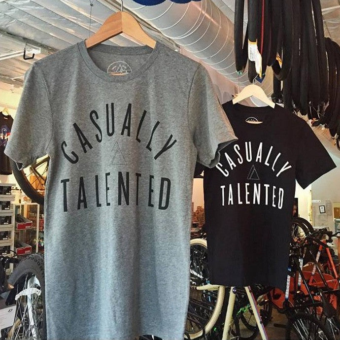 Casually Talented Tee - Grey