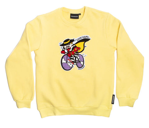 HAM CREWNECK SWEATSHIRT - French Fry