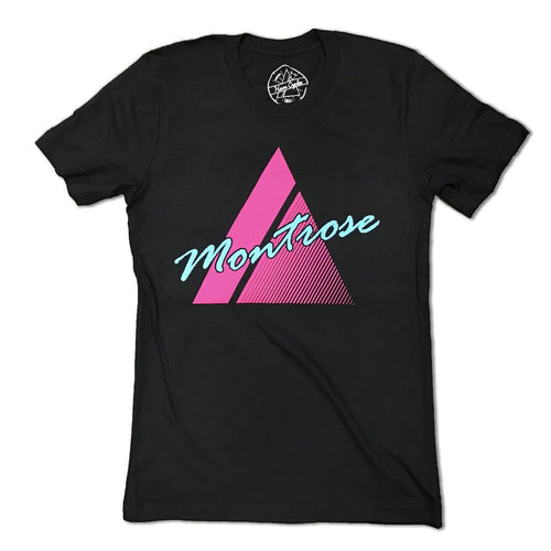 Montrose Tee - Pink Triangle