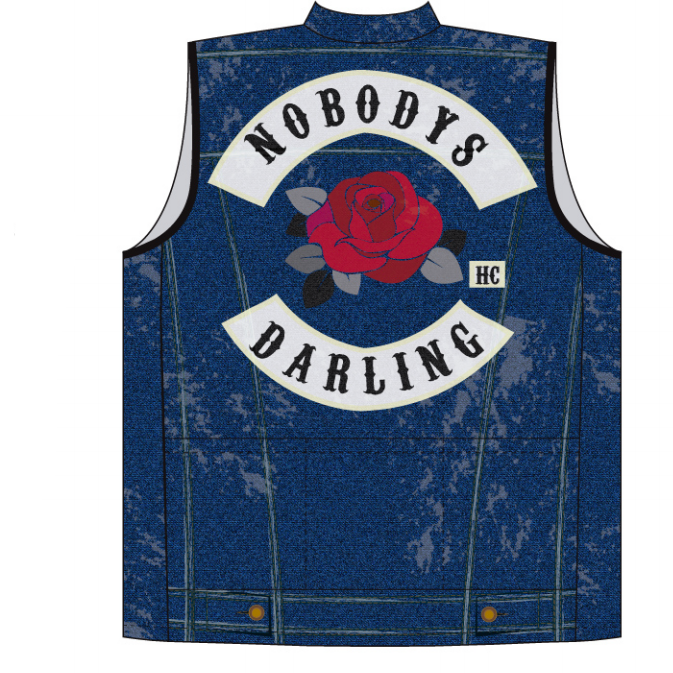 Not-Denim Cycling Vest