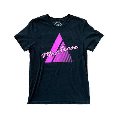 Shop Tee - Purple/Black