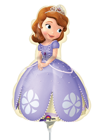 Sofia The First Pose MiniSh Globo Metálico