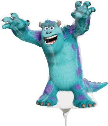 Monsters University - Sully 14 Pulgadas MiniSh Globo Metálico