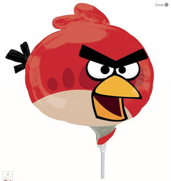 Angry Birds Red Bird MiniSh Globo Metálico