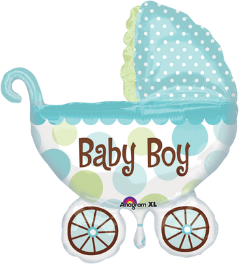 Baby Buggy Boy SuperSh Globo Metálico
