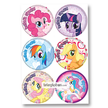 24 Distintivos de My Little Pony