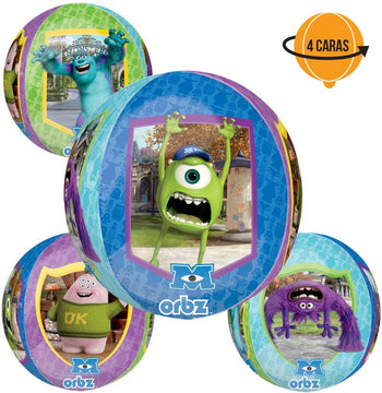 Monsters University Orbz Globo Metálico
