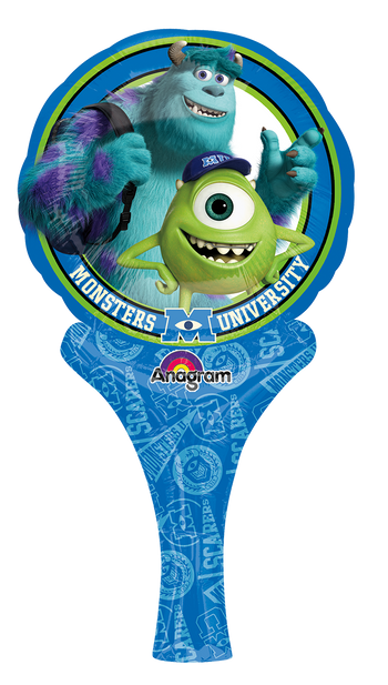 Monsters University DivertiGlobo Globo Metálico