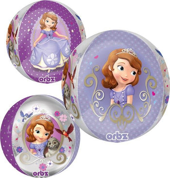 Sofia The First Orbz Globo Metálico