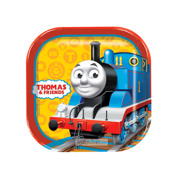 6 Platos Fiesta Desechables de THOMAS AND FRIENDS