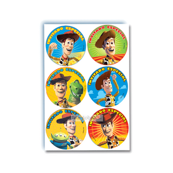 24 Distintivos de Toy Story Woody
