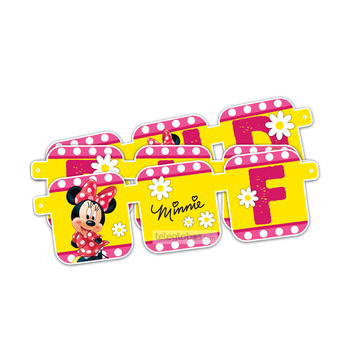 Letrero Movil de Minnie Mouse