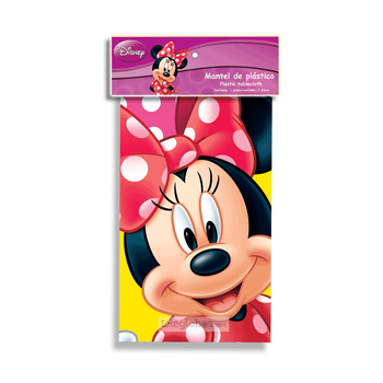 Mantel Plastico de Minnie Mouse