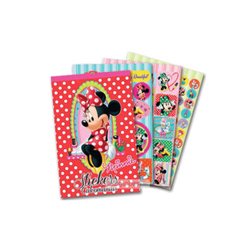 Blocks Stickers de Minnie Mouse