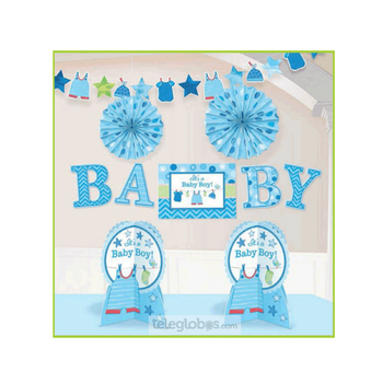 Kit Decorativo Cuarto Shower With Love Boy