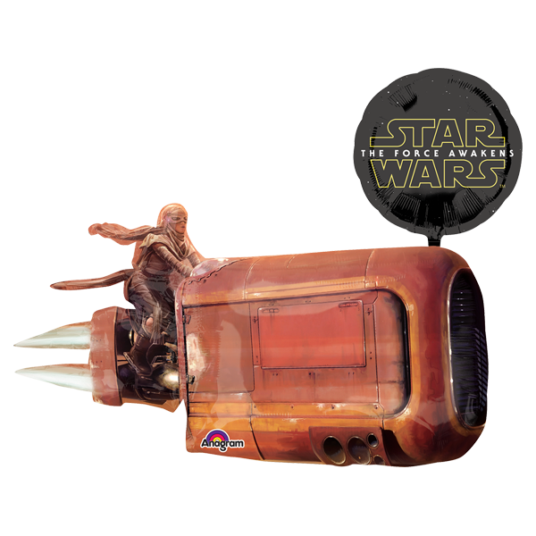 Star Wars Tfa Land Cruiser SuperSh Globo Metálico