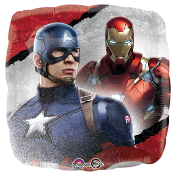 Captain America: Civil War 18 Pulgadas Globo Metálico
