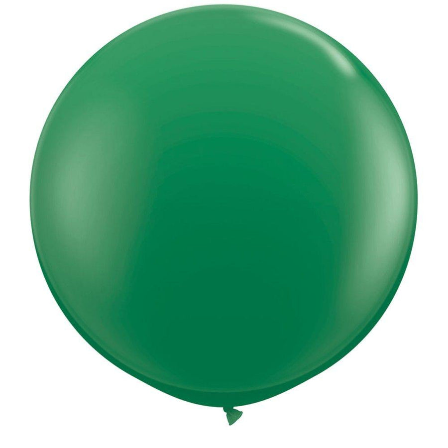2 x Globos Látex Verde 3 Pies Qualatex