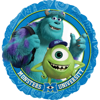 Monsters University Group 18 Pulgadas Globo Metálico
