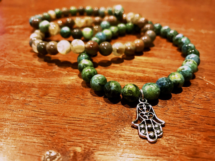 Hamsa Hand of Blessing Set