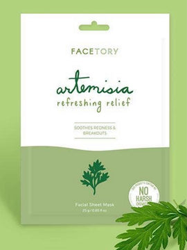 Artemisia Refreshing Relief Facial Sheet Mas