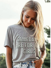 Gamedays are for Girls Graphic Tee