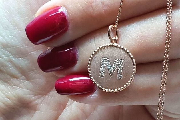 personalized pendant holiday jewelry