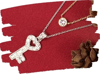 key necklace as a gift