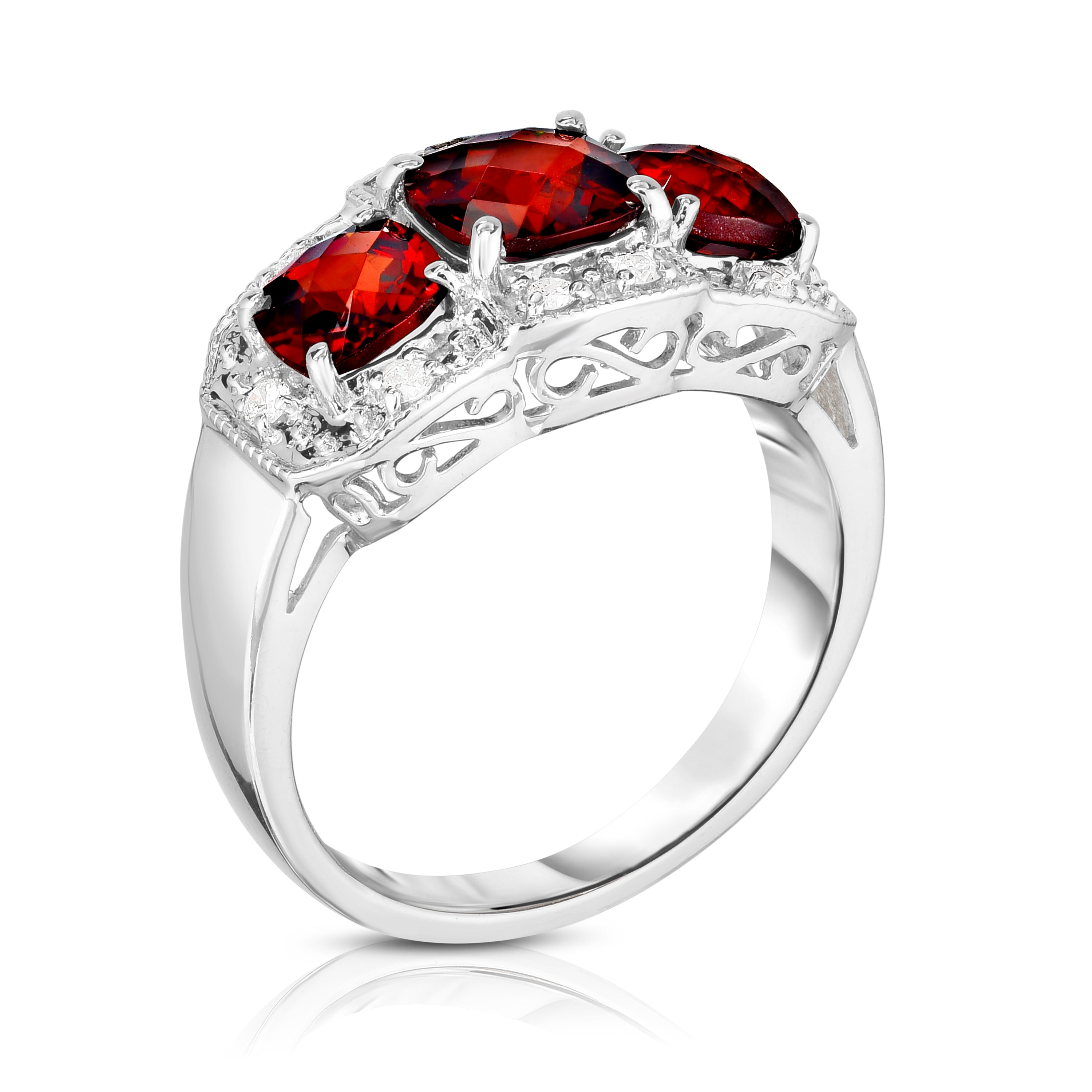 at j wide master jewelry red id cluster pave band diamond ring for rings sale