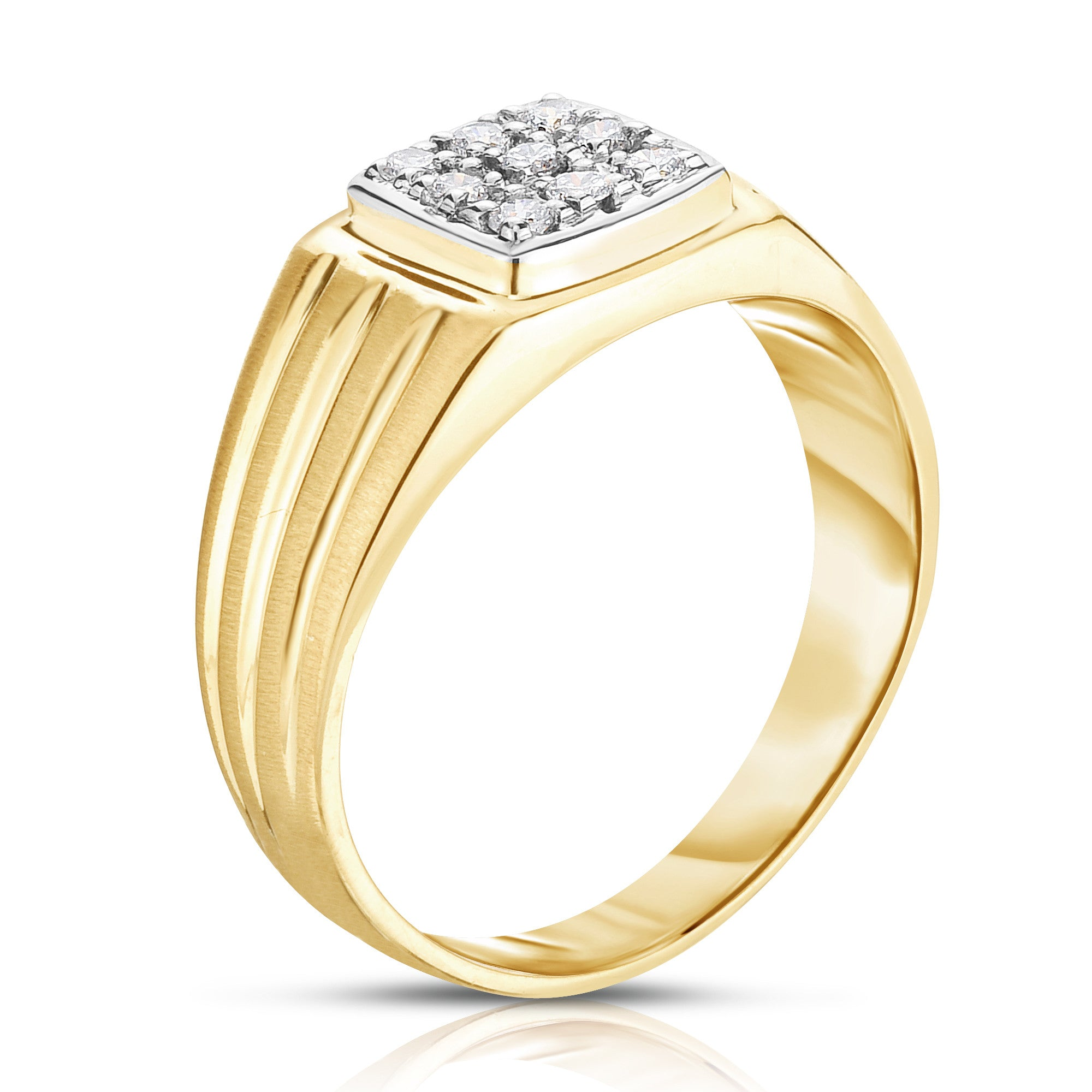 certified diamond j rings wedding color ags ctw in band milgrain i gold products white
