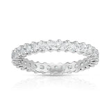 Noray Designs 14K White Gold Princess Diamond (0.82-1.00 Ct, G-H Color, SI2-I1 Clarity) Eternity Ring