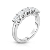 5-stone diamond ring
