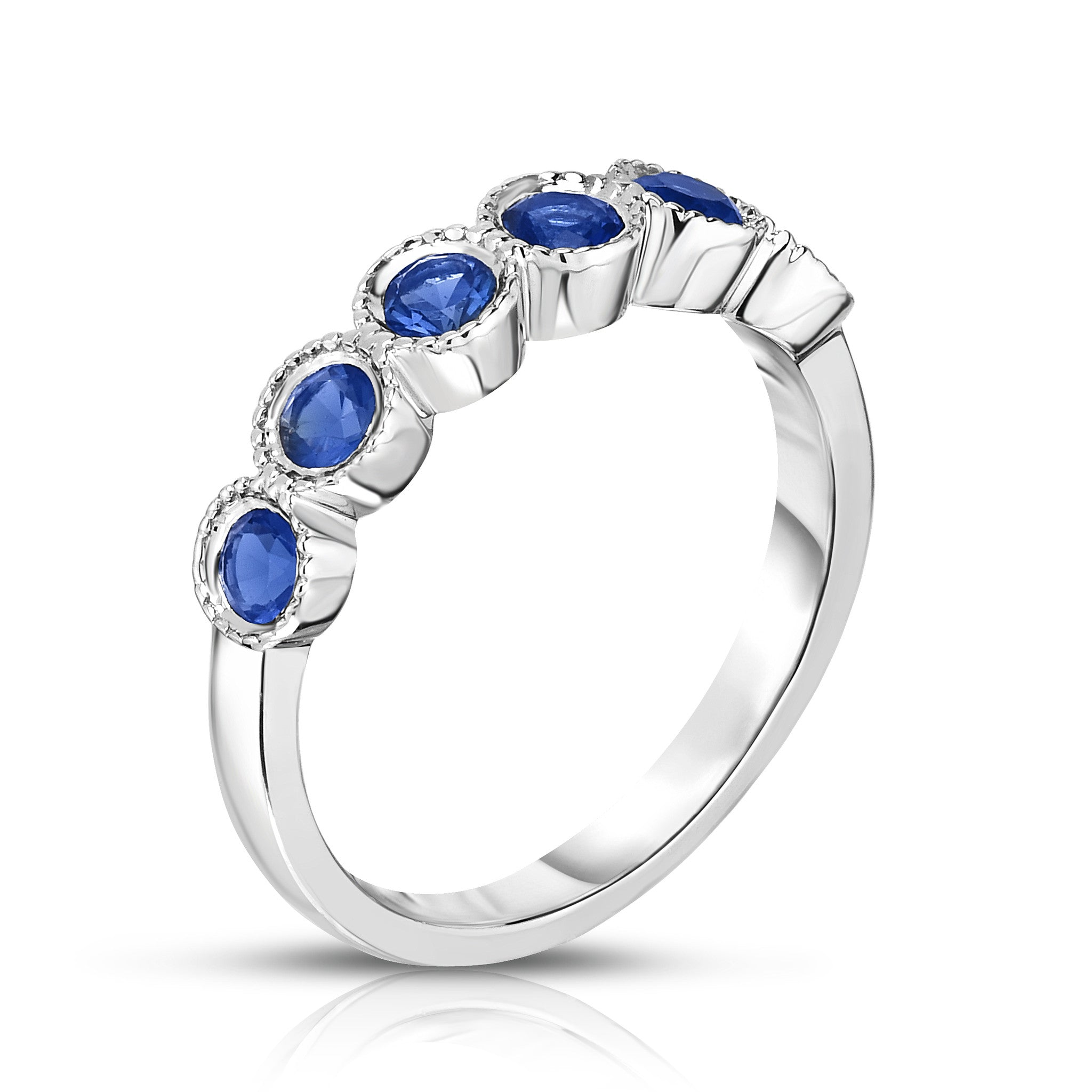 rings tapered nile engagement product blue wedding studio ring baguette platinum