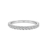 14K Gold Diamond Wedding Band (0.35 Ct, G-H Color, SI2-I1 Clarity)