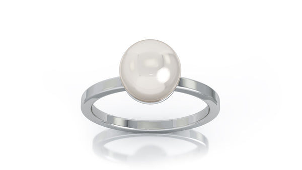 14K Gold 7MM Akoya Cultured Pearl Ring