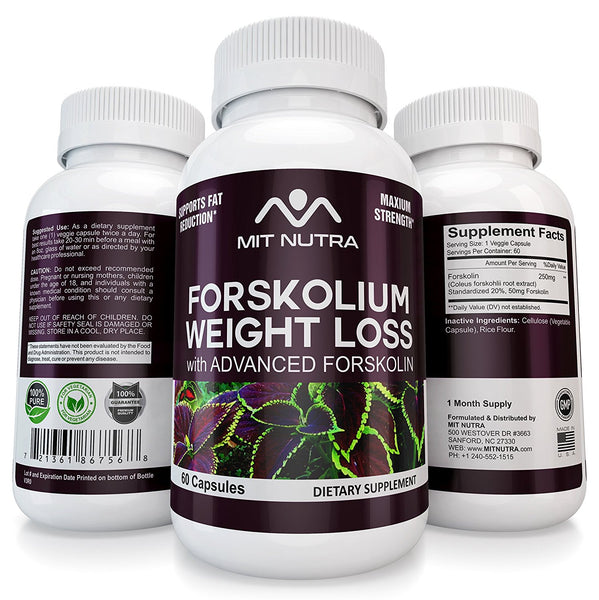 Forskolin Diet Pills Weight Loss Benefits