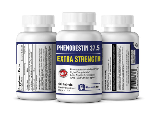 PHENOBESTIN 37.5 ES - WHITE TABLETS WITH BLUE SPECKS - RISK FREE PURCHASE - 100% SATISFACTION GUARANTEED OR YOUR MONEY BACK!