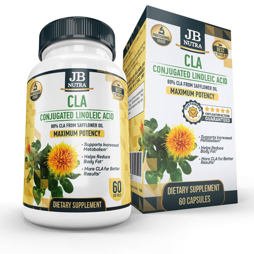 CLA - 100% PURE CONJUGATED LINOLEIC ACID by JB NUTRA - MIT Nutritions