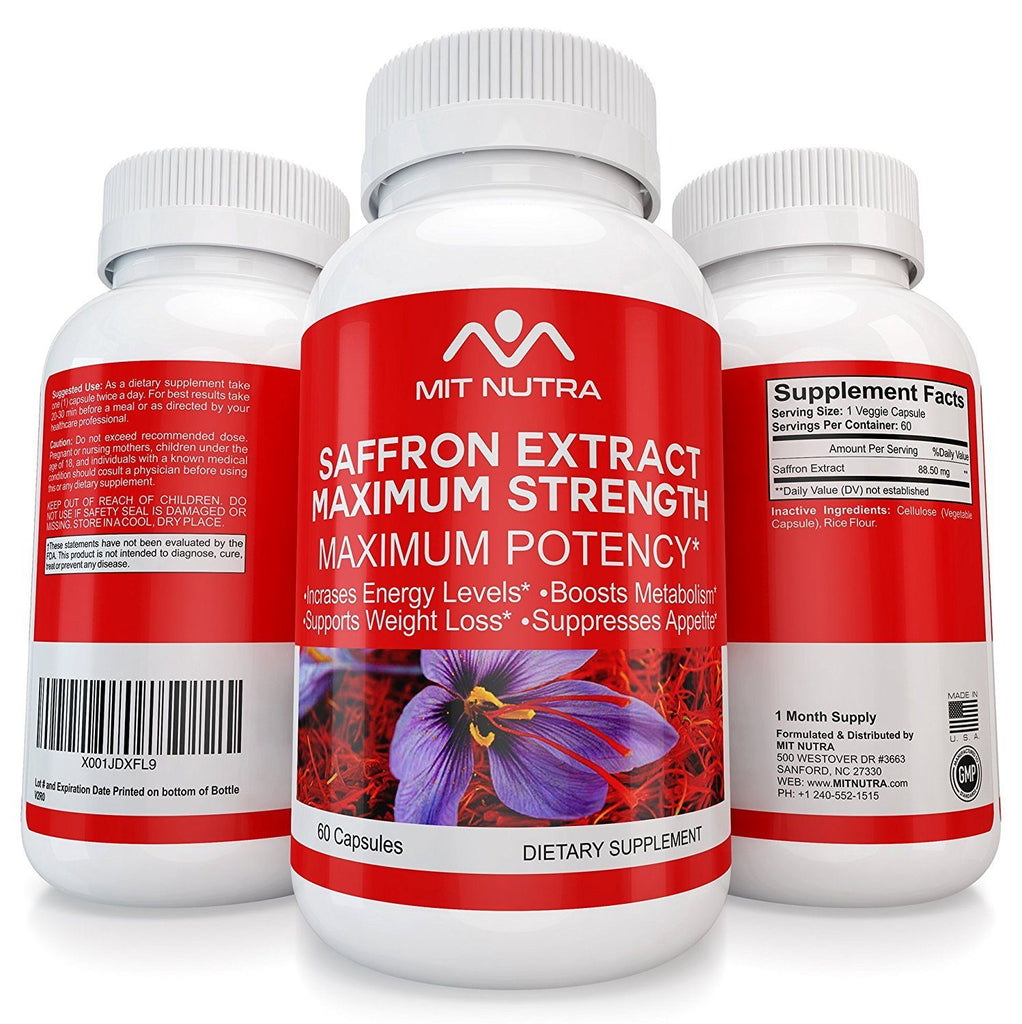 Saffron - Best Saffron Extract - Maximum Strength Appetite Suppressant
