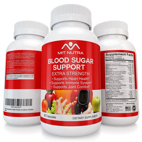 The Best Blood Sugar Support - Over 20 Ingredients Designed to Lower Blood Sugar Levels - Maximum Potency