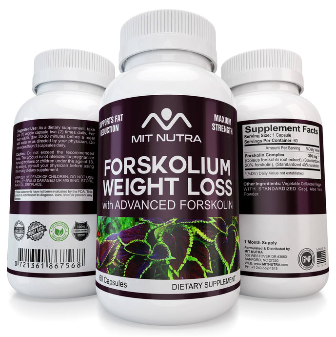 Forskolium For Weight Loss - The Most Potent Forskolin